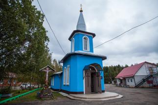 Часовня на Ковалевском кладбище
