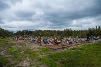 Свободные участки Ковалевского кладбища