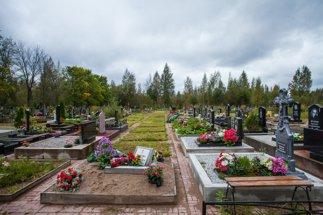 Участки Ковалевского кладбища