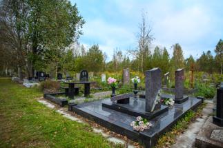 Родственные захоронения Ковалевского кладбища
