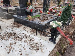 Уборка на кладбище спб